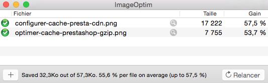 Cache prestashop optimiser images